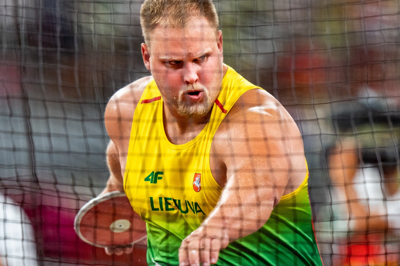 A.Gudžius po finalo negailėjo sau kritikos.<br>V.Dranginio/LTOK nuotr.