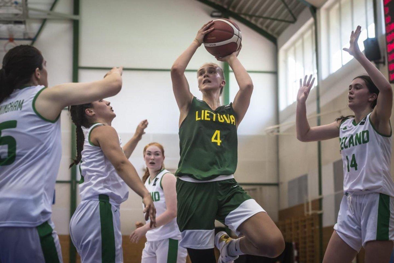 Justė Jocytė sužaidė puikų mačą.<br>FIBA com. nuotr.