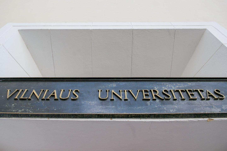 Vilniaus universitetas.<br>J.Stacevičiaus nuotr.