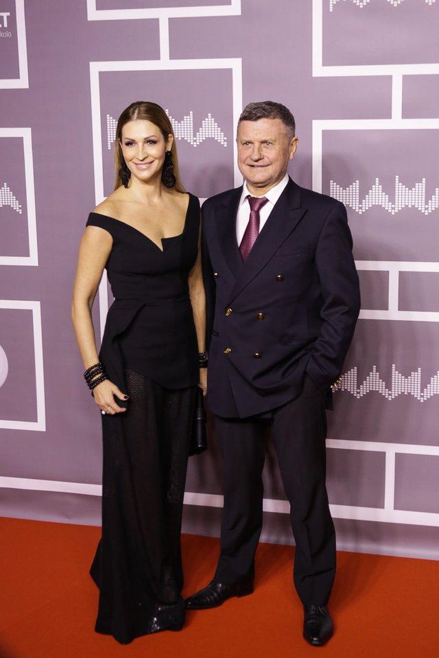 Antanas Bosas su žmona Daina.<br>G.Bitvinsko nuotr.