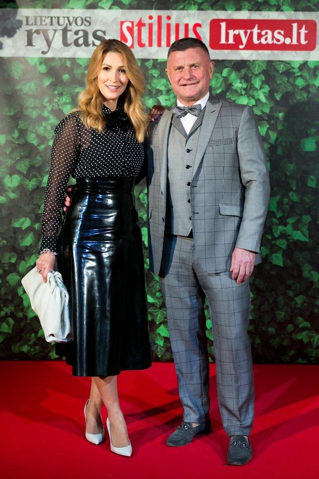 Antanas Bosas su žmona Daina.<br>T.Bauro nuotr.