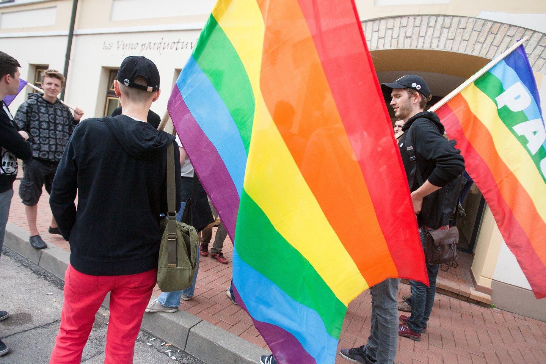 Artėjant LGBT eitynėms Kaune – pareigūnų baimė dėl saugumo, nors Laisvės alėja yra mačiusi visko.<br>J.Stacevičiaus nuotr.