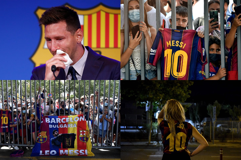 L.Messi atsiveikino su Katalonojos ekipa.<br>AP/AFP/Scanpix nuotr.