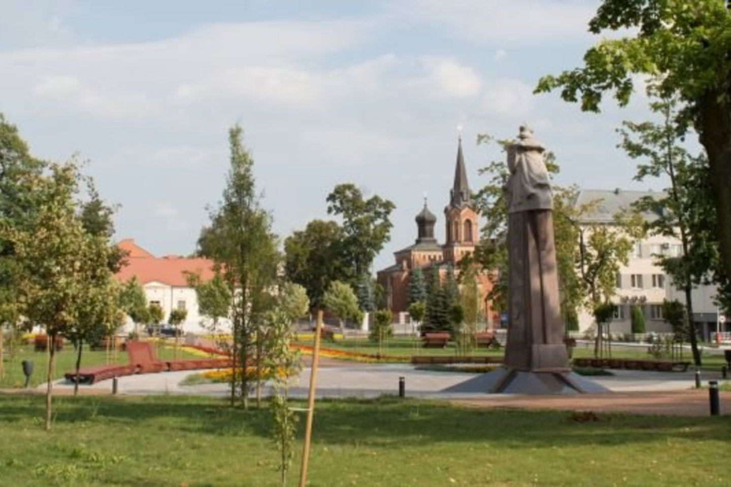 Vytauto Didžiojo parkas Marijampolėje.<br>Rengėjų nuotr.