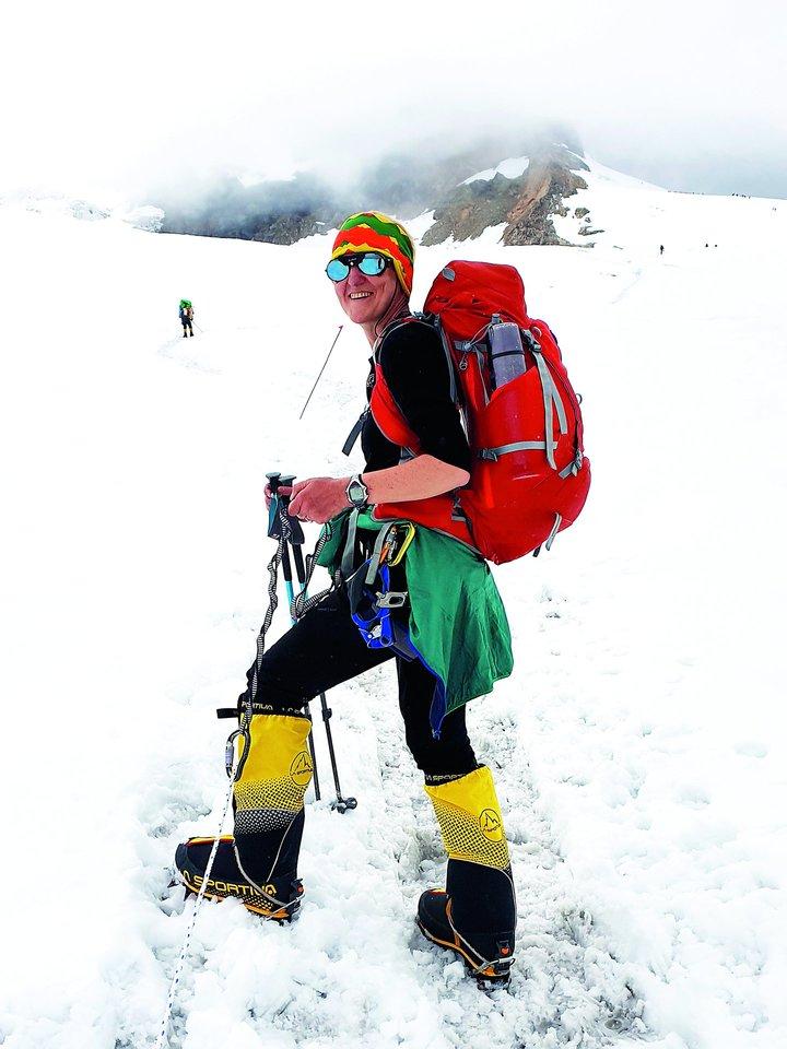 Danguolei nepamirštamos akimirkos ant kalno gali ateiti netikėtai – tekant saulei ar gęstant dienai, pasiekus viršūnę, įveikus sudėtingą atkarpą.<br>Asmeninio archyvo nuotr.