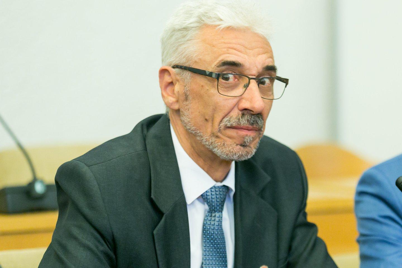 Petras Pušinskas, Skuodo rajono meras<br>T.Bauro nuotr.
