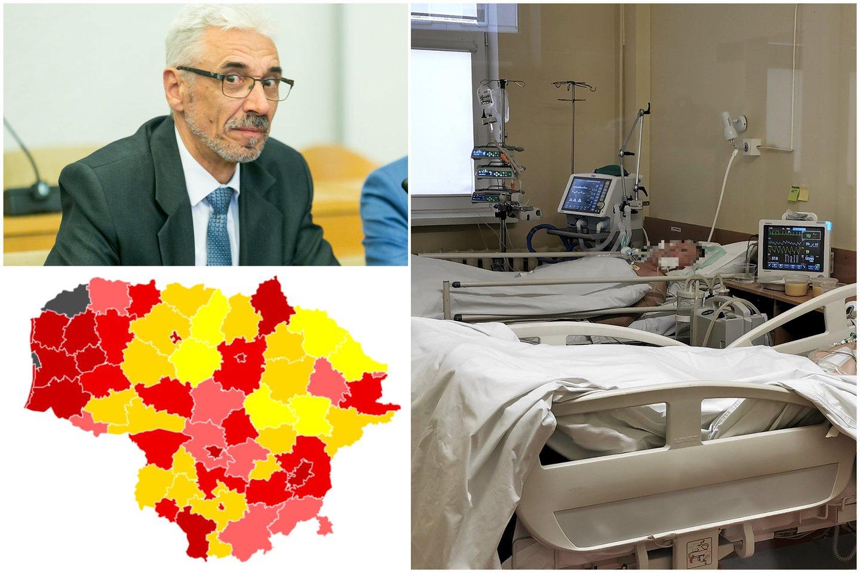 Koronaviruso padėtis Lietuvoje nieko gero nežada.<br>lrytas.lt nuotr. koliažas