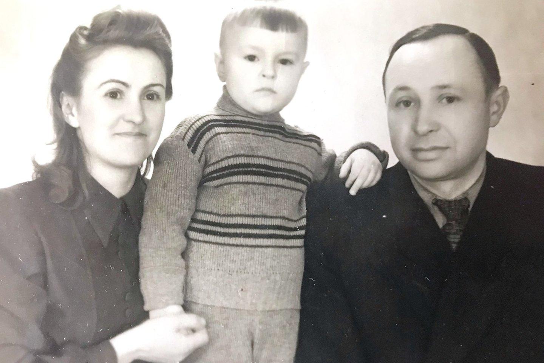 A. ir Z.Stanceliai su sūnum Eligijumi.<br>Asmeninio archyvo nuotr.