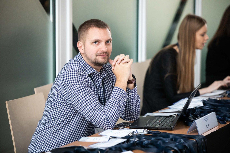 Projekto verslo vystymo specialistas Tomas Proscevičius.