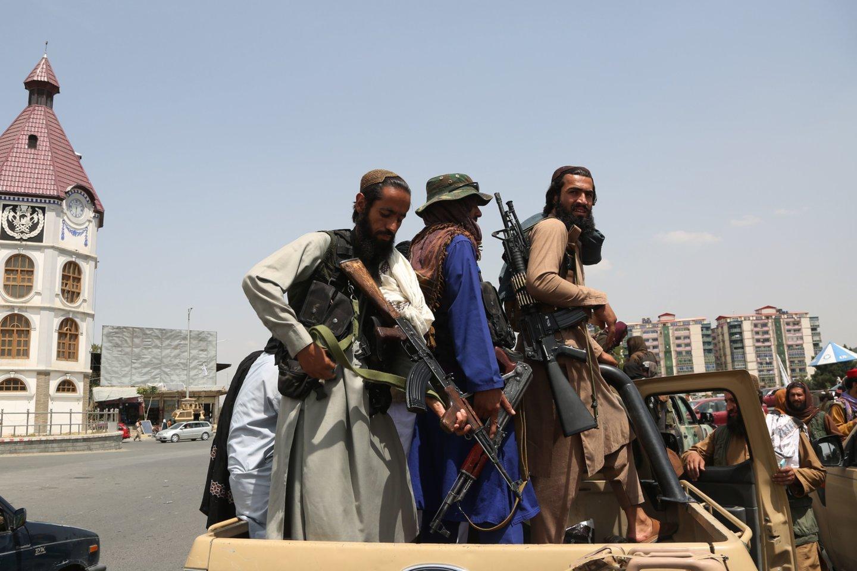 Afganistane yra 2 iš šalies išvykti norintys Lietuvos piliečiai.<br>SIPA/Scanpix nuotr.