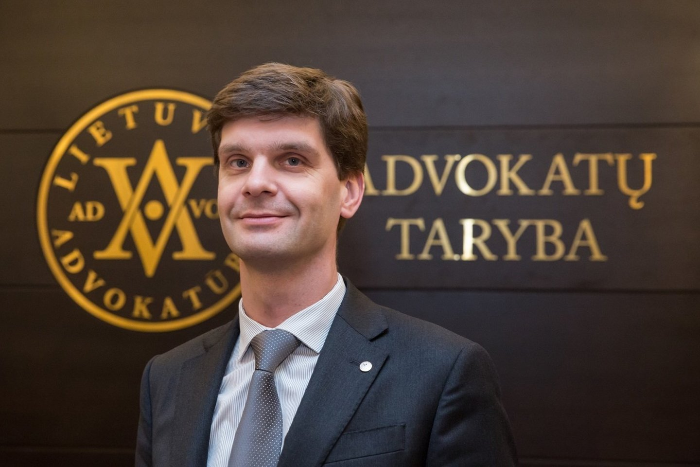 Ignas Vėgėlė.<br>Lietuvos advokatūros nuotr.