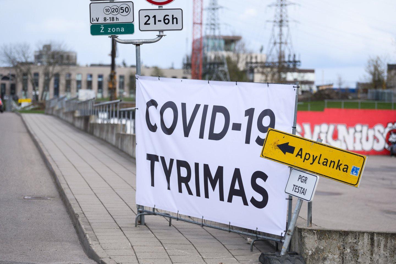 Lietuvoje toliau fiksuojami nauji koronaviruso atvejai.<br>V.Skaraičio nuotr.