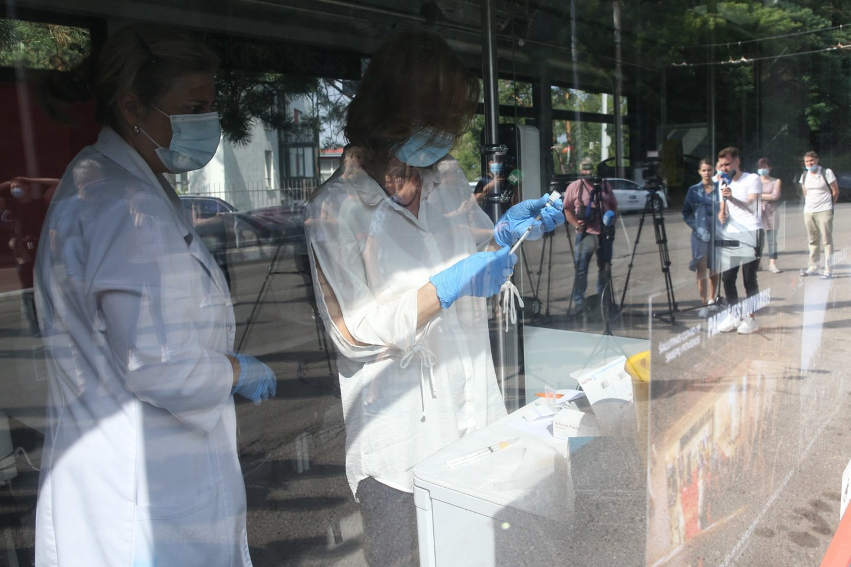 Lietuvoje toliau fiksuojami nauji koronaviruso atvejai.<br>R.Danisevičiaus nuotr.