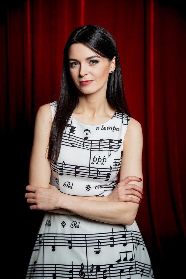 Profesionalios pianistės karjerą Gerūta iškeitė į žurnalistiką.<br>E.Blaževič (LRT) nuotr.