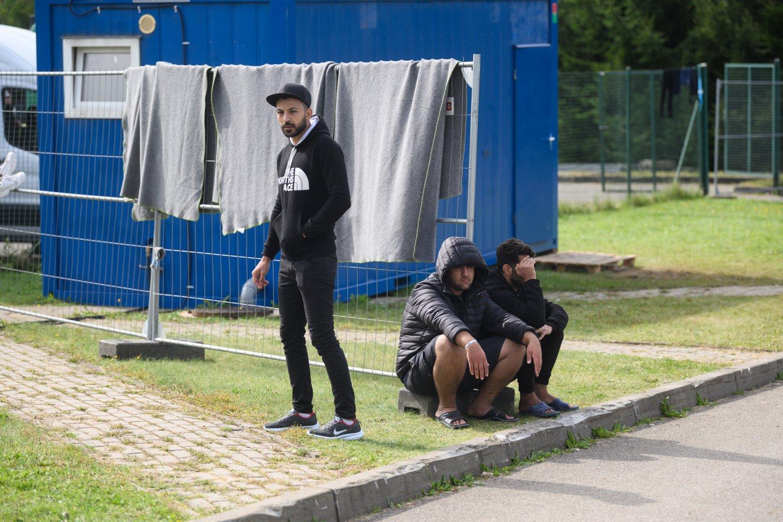 Migrantai.<br>V.Skaraičio nuotr.