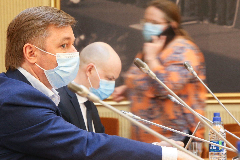 Ramūnas Karbauskis, Aurelijus Veryga<br>R.Danisevičiaus nuotr.