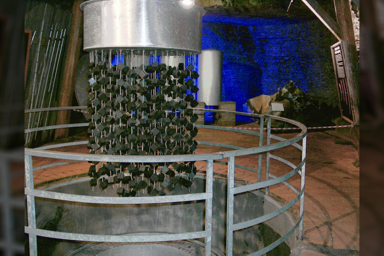 B-VIII branduolinio reaktoriaus, sukurtoHaigerlocho laboratorijoje, kopija.<br>Wikimedia commons