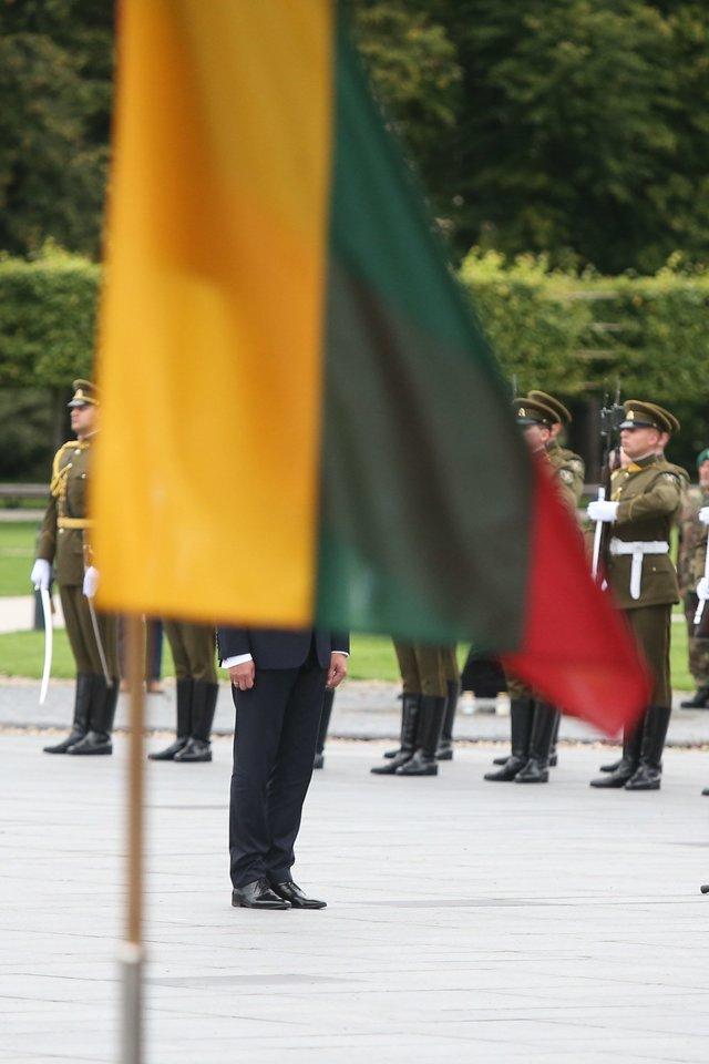 Vilniuje paminėtos 28-osios Rusijos kariuomenės išvedimo iš Lietuvos metinės.<br>R.Danisevičiaus nuotr.