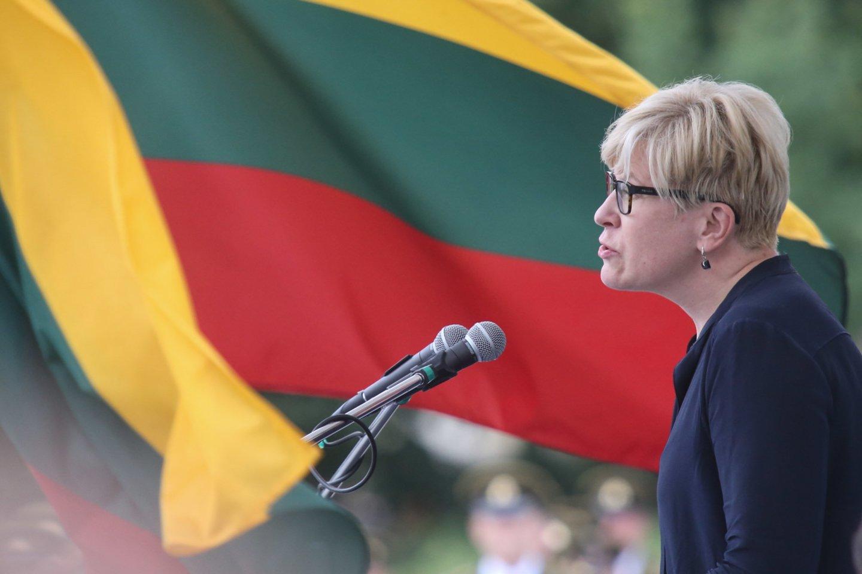 Į Romą rugsėjo 1-ąją su trijų dienų oficialiu vizitu atvyksta Lietuvos premjerė Ingrida Šimonytė.<br>R.Danisevičiaus nuotr.