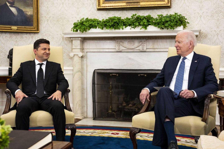 Pasak Ukrainos diplomatijos vadovo, idėjos, kurias aptarė prezidentai, pradedamos įgyvendinti.<br>Capital pictures/Scanpix nuotr.