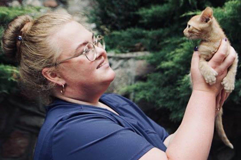 Veterinarijos gydytoja Meilė Stuogė: kiekvienas gyvūnas nusipelno gyventi oriai.<br>Tiltas media nuotr.