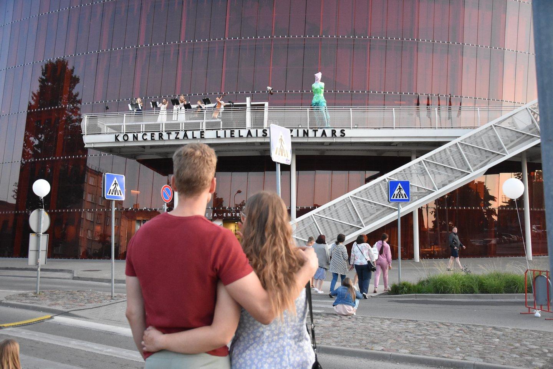 """Liepojos koncertų salė """"Lielais Dzintars"""".<br>A.Srėbalienės nuotr."""