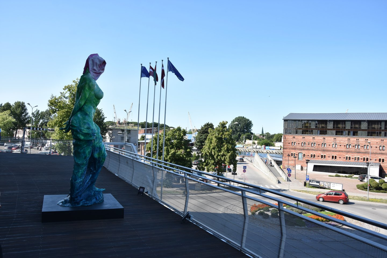 "E.Peršėvisco skulptūra ""Amfitritės pagrobimas"".<br>A.Srėbalienės nuotr."
