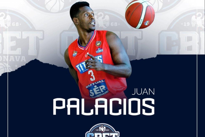 J.Palaciosas atvyks į Jonavą.<br>Klubo nuotr.
