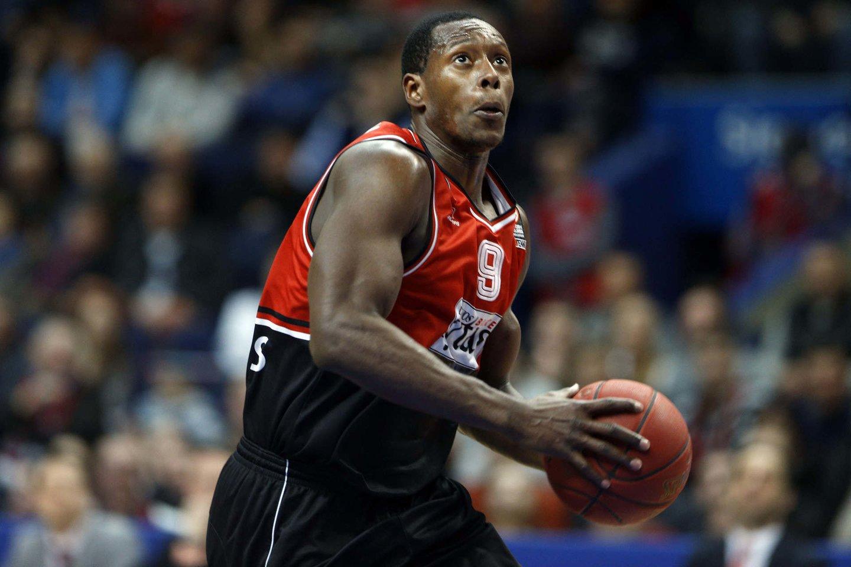 J.Palaciosas – vienintelis aukšto lygio krepšinį žaidžiantis kolumbietis.<br>M.Kulbio nuotr.