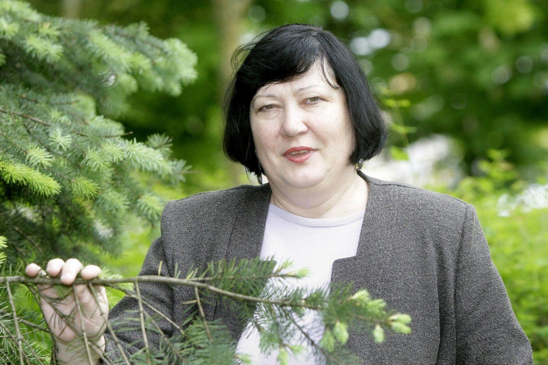 Nacionalinio visuomenės sveikatos centro užkrečiamųjų ligų specialistė, medicinos entomologė Milda Žygutienė.<br>R.Jurgaičio nuotr.