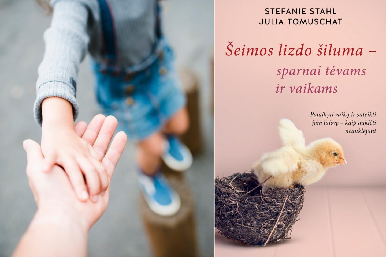 """Leidykla """"Briedis"""" pristato diplomuotų psichologių Stefanie Stahl ir Julios Tomuschat knygą """"Šeimos lizdo šiluma – sparnai tėvams ir vaikams"""", kurioje žingsnis po žingsnio parodo, kaip atpažinti įsisenėjusias nuostatas ir ankstyvuosius patyrimus bei kaip juos sėkmingai keisti.<br>lrytas.lt koliažas"""