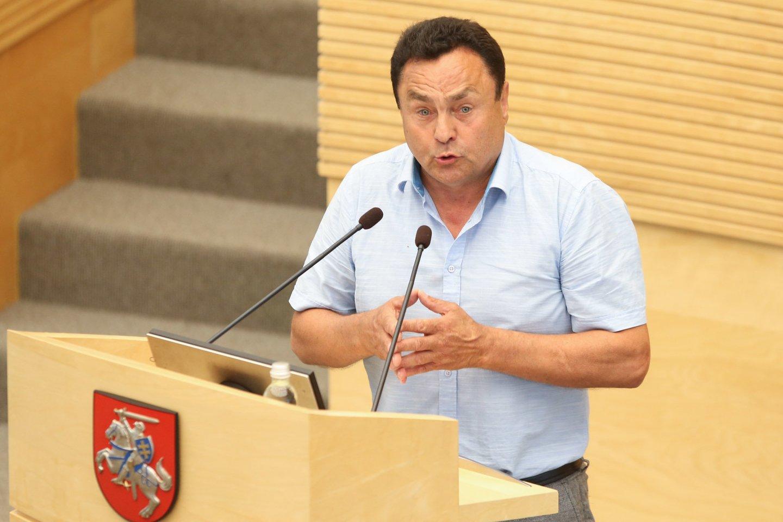 Petras Gražulis.<br>R.Danisevičiaus nuotr.