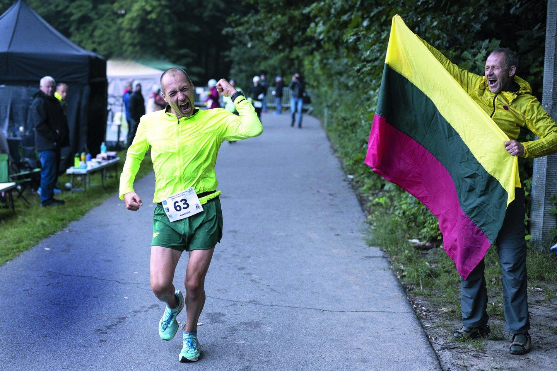 A.Sorokinas jau buvo pamiršęs, kaip atrodo jo kasdienybė be bėgimo.<br>M.Stankevičiaus nuotr.