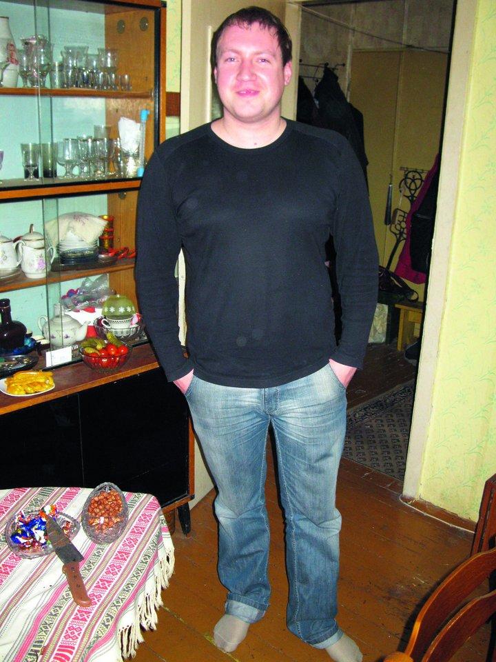 Prieš devynerius metus A.Sorokinas svėrė apie 100kg.<br>M.Stankevičiaus ir asmeninio archyvo nuotr.