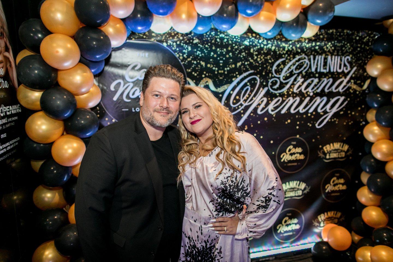 Erika ir Merūnas Vitulskiai.<br>Organizatorių nuotr.