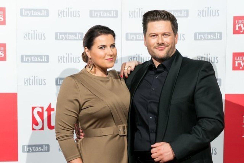 Merūnas ir Erika Vitulskiai.<br>LR archyvo nuotr.