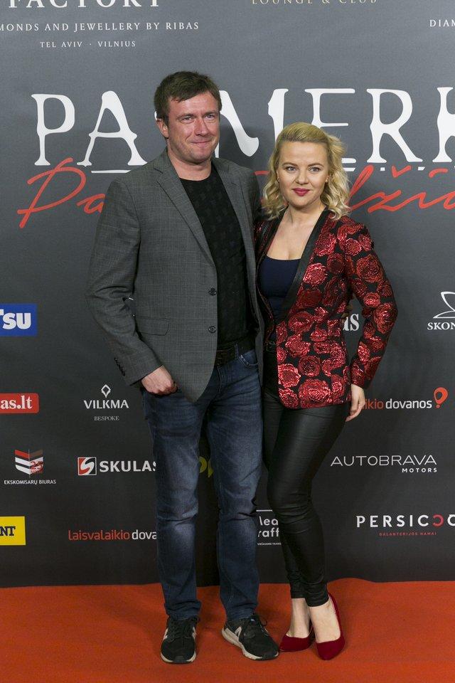 Marius ir Renata Jampolskiai.<br>T.Bauro nuotr.