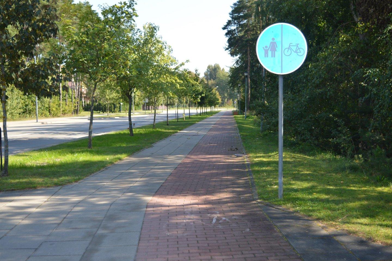 Pakeisti ženklai<br>Palangos savivaldybės nuotr.
