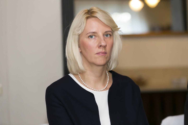 Santaros klinikų Vaikų ligoninės Vaikų infekcinių ligų skyriaus vedėja daktarė Inga Ivaškevičienė.<br>T.Bauro nuotr.
