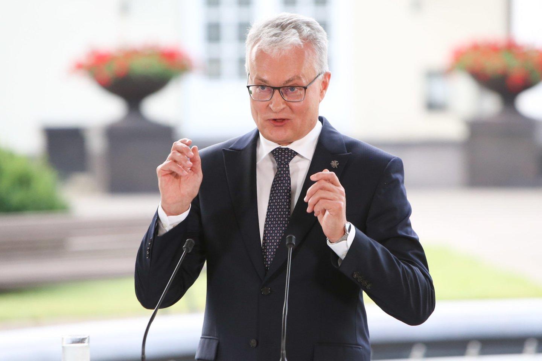 Niekur nepradings ir visai valstybei toliau kenksianti valdančiųjų ir prezidento G.Nausėdos priešprieša.<br>R.Danisevičiaus nuotr.