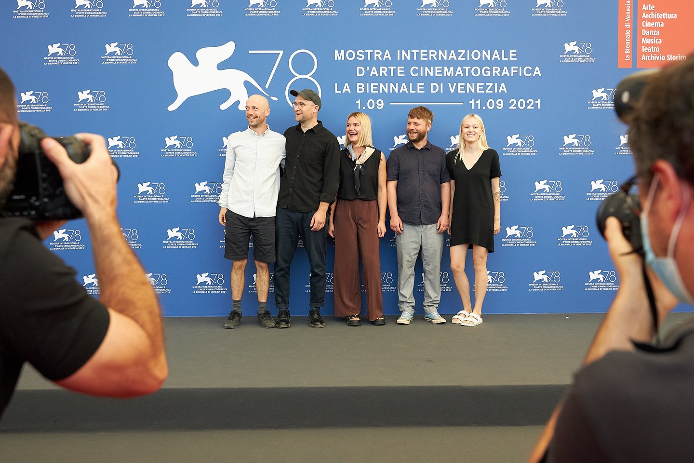 "Filmo ""Piligrimai"" premjera Venecijos kino festivalyje.<br>A.Solomino nuotr."