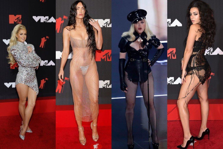 MTV muzikos apdovanojimai.<br>Lrytas.lt koliažas.
