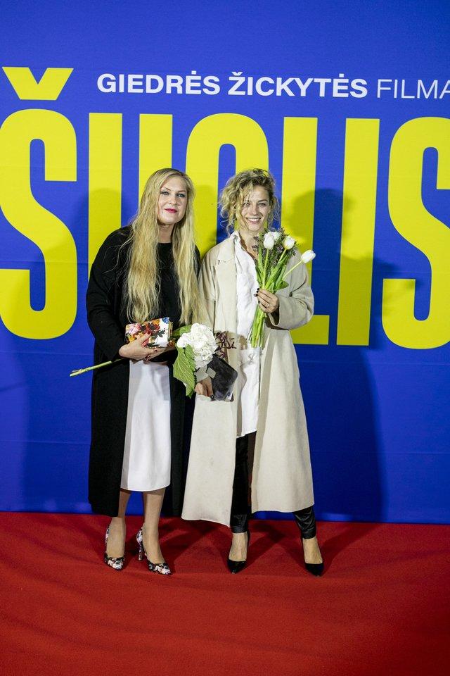 Daiva Jovaišienė ir Živilė Diawara.<br>Organizatorių nuotr.