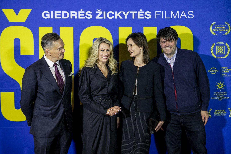 Eitvydas Bajarūnas, Giedrė Žickytė, Viktorija Čmilytė-Nielsen, Peter Heine Nielsen.<br>Organizatorių nuotr.
