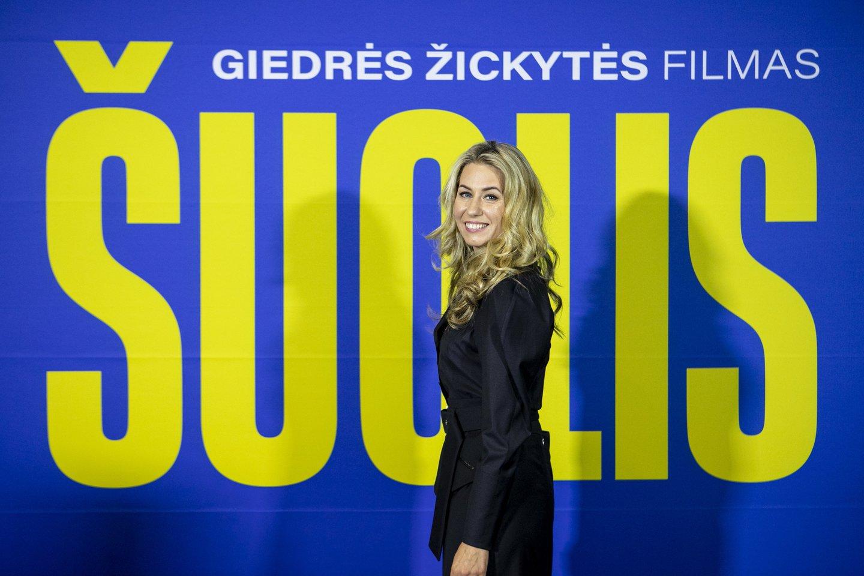 Filmo režisierė Giedrė Žickytė.<br>Organizatorių nuotr.