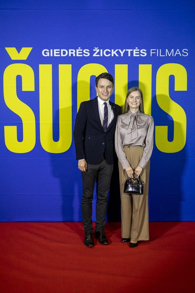 Linas Kojala su žmona<br>Organizatorių nuotr.