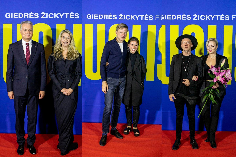 G. Nausėda ir G. Žickytė, R.Šimašius su žmona G. T. Gylytė, G. Ivanauskas ir T. Vaškevičiūtė.<br>lrytas.lt koliažas.