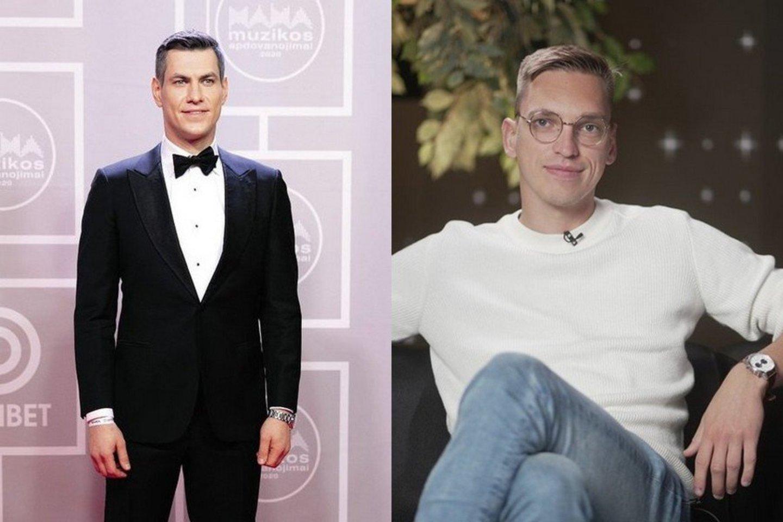 Justinas Jankevičius ir Mantas Bertulis.