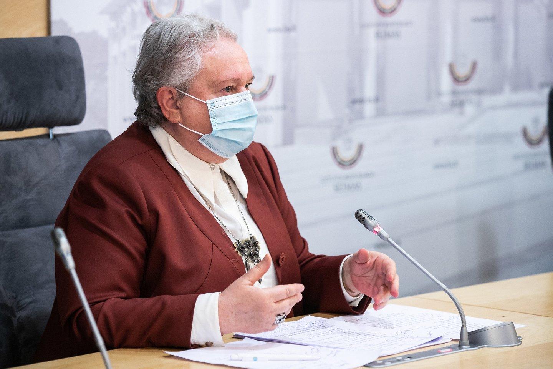 Vilija Targamadzė.<br>Olgos Posaškovos (Seimo kanceliarijos) nuotr.