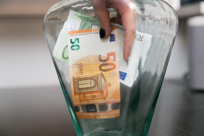 Siūlomas modelis vidutinę pensiją padidintų apie 50 eurų.<br>T.Bauro nuotr.